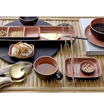 Sienna Serving Dish, Orange, Stoneware