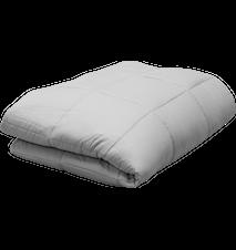Cura Pearl 9 kg manta con peso 150x200 cm gris claro