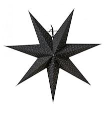 Aino Julstjärna Svart 44 cm