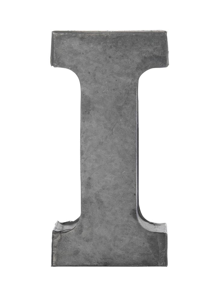 Bogstav i 5,5 cm - Zink