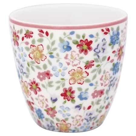 Clementine Mini Latte Cup Valkoinen