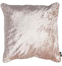 Putetrekk 50x50 Velvet/Linen Rugby Tan