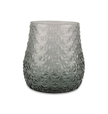 Form Living jarrón pequeño vidrio 18x18 cm verde