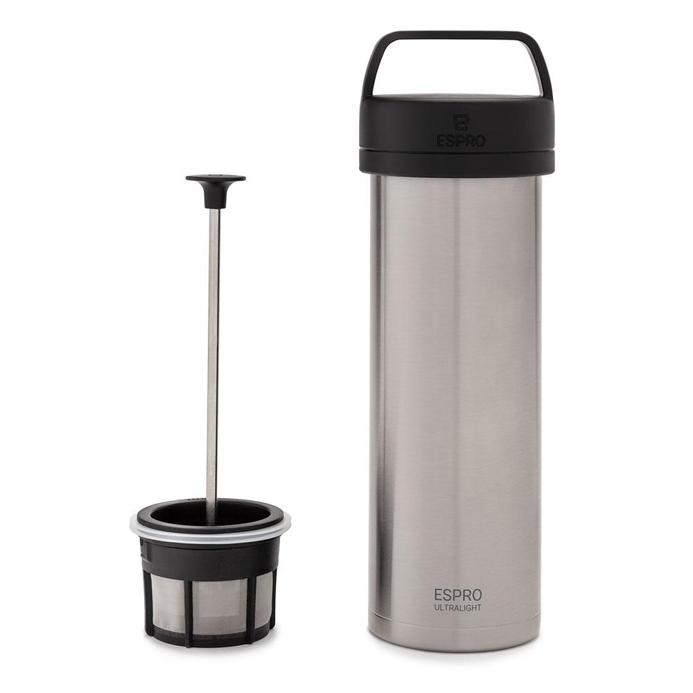 Espro Travel Pressmug Ultralight stål termo kaffe