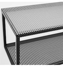 Grid hylde - sort
