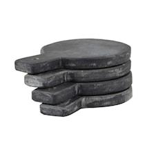 Serveringsbricka/Underlägg 4 st 14 cm