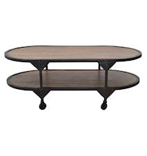 Bombay oval sofabord