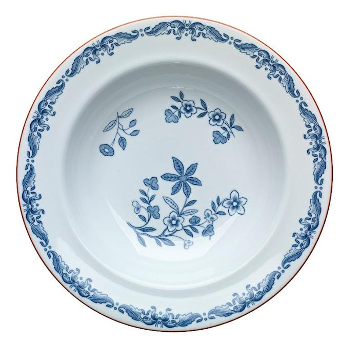 Ostindia Plate deep 24 cm