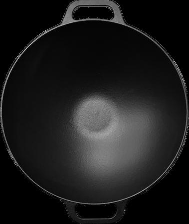 Wokkipannu Valurauta 36 cm