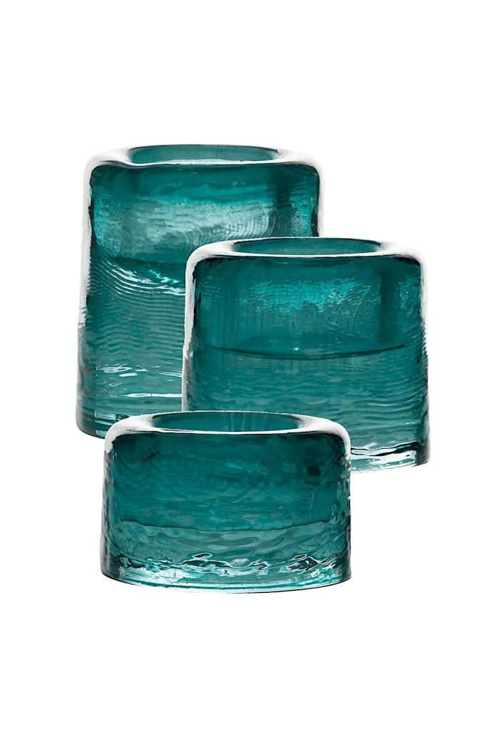 Ljuslykta Sarek 4 Cm Emerald