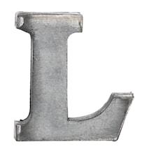 Zinc letter, L