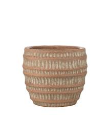 Pot à fleurs Jillia 14 cm terracotta