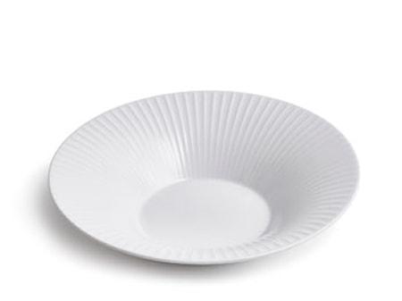 Hammershøi dyp tallerken Hvit Ø 26 cm