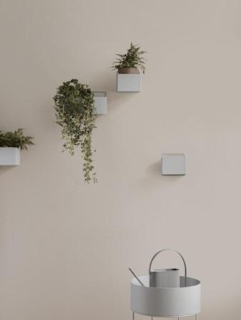 Wall Box Kvadrat Ljusgrå