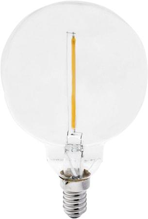 Bright LED Filament Clear Globe 80mm