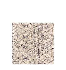 Shaggy Print Matta 80x140 offwhite/taupe