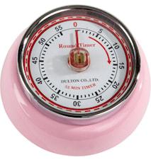 Dulton ajastin, vaaleanpunainen 7,5 cm