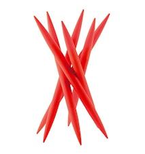 SPICY Knivstativ med 6 st kødknive Rød