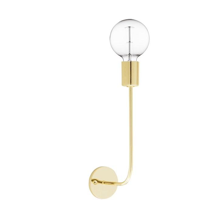 Vägglampa One Metal - Guld