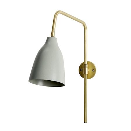 Vegglampe Evie Grønn