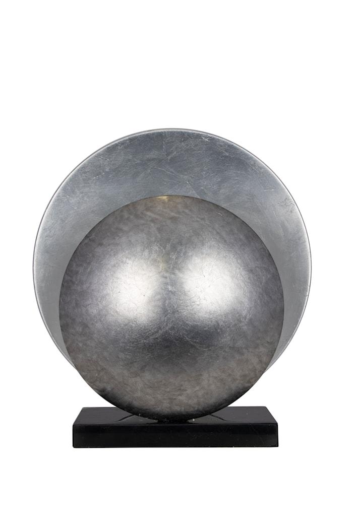 Pöytävalaisin Orbit Antiikkihopea Marmori