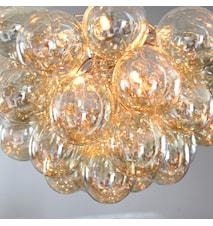 Gross Taglampe - Amber