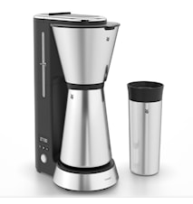 KitchenMinis Kaffeemaschine mit Thermoskanne und To-Go-Tasse
