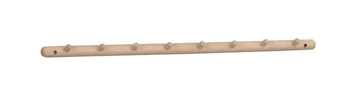 Milford Kroklist Vitpigmenterad Ek 80 cm