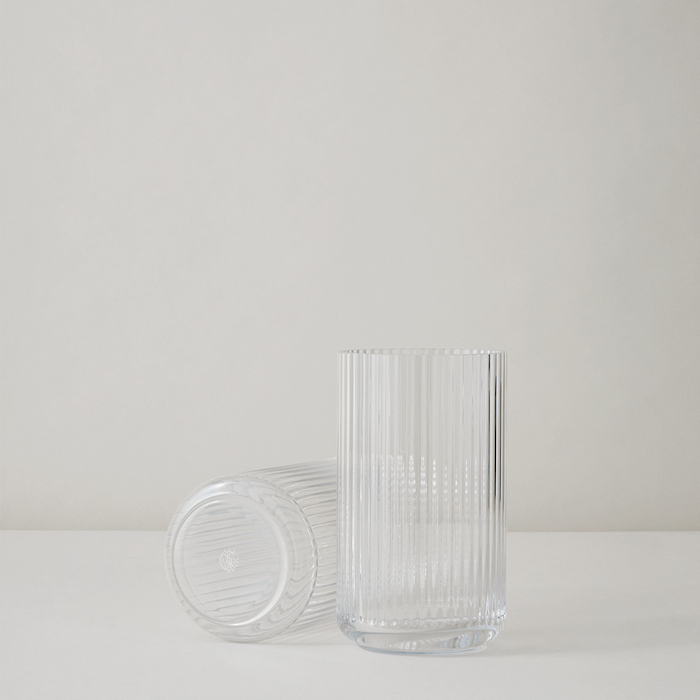 Vase Munnblåst Glass Klart 25cm