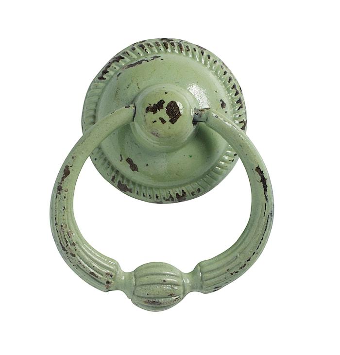Håndtag med ring Ø 5 cm - Lysegrøn
