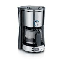 Switch Kaffebryggare med Timer Rostfritt stål
