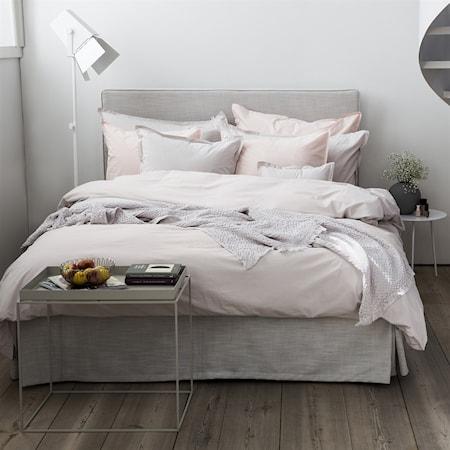 Venezia sängkappa linne - Ivory, 140x220x44