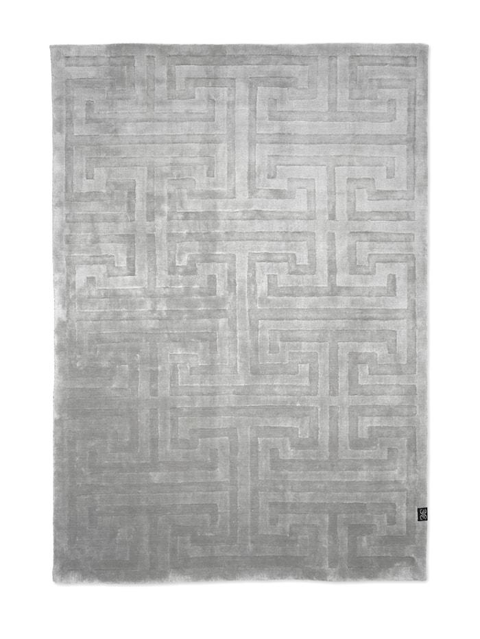 Teppe Key Tencel Silver - 250x350 cm