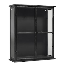 Downtown iron wall cabinett - Black