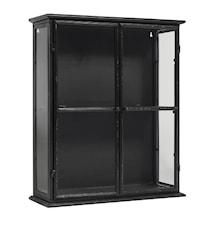 Downtown iron wall cabinett - Black