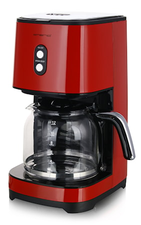 Kaffebryggare 1.5 L Röd