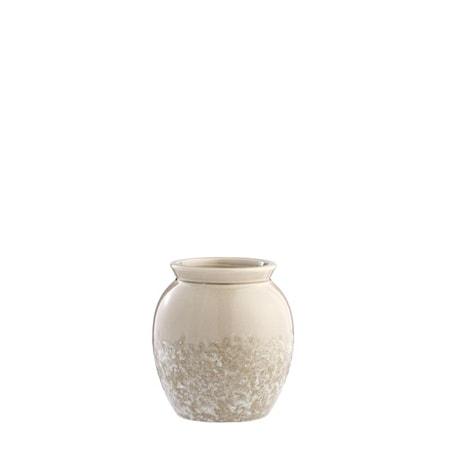 Vas Clary 15,5cm Beige