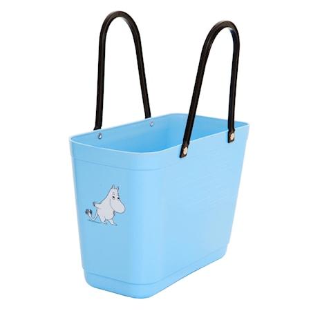 Väska Liten Green Plastic Ljusblå Mumintroll