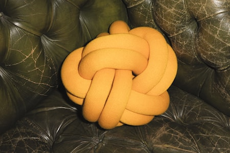 Knot Kudde Orange