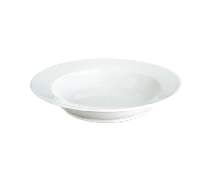 Sancerre tallerken dyp hvit, Ø 22 cm