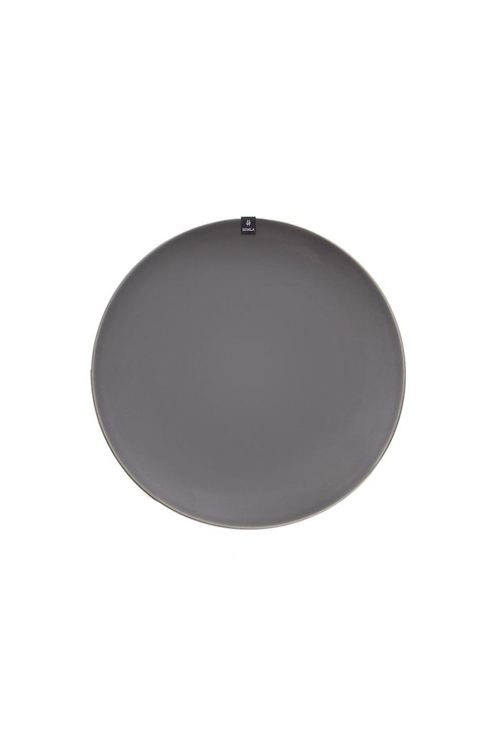 Lautanen With Pleasure 27 cm - Charcoal