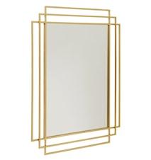 SQUARE Spegel - Guld