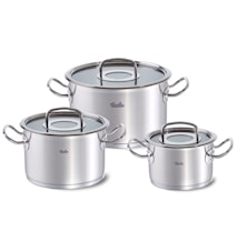 Original Pro Pots 3-pc with glass lids