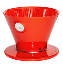 Coffee Maker Pour Over Red