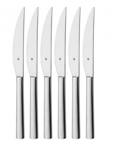 Nuova steakkniv blank stål 23cm 6-pack