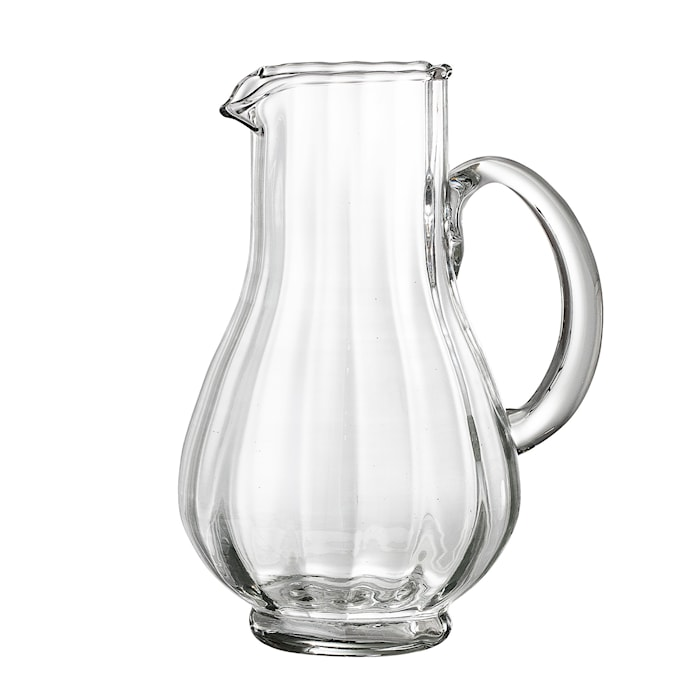 Karaff Klar Återvunnet Glas