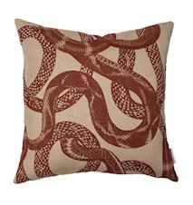 kuddfodral Snake peek 50x50 cm