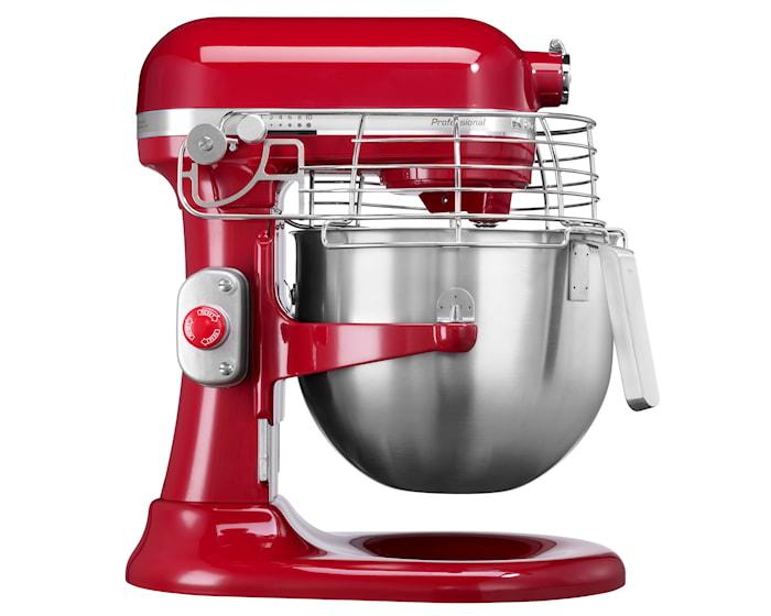 Professional köksmaskin röd 6,9L
