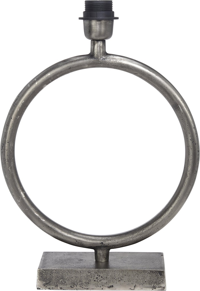 Circle Lampefot Råsølv 54cm