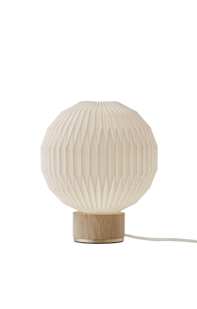 Model 375 Bordslampa x-Small Ljus Ek Fot Papper Skärm